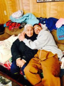 Eugene and grandma annie